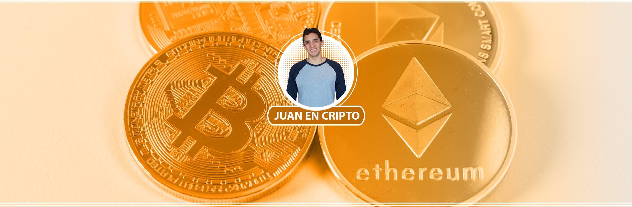 Juan en Cripto Banner Naranja - Bitcoin, Blockchain y Criptomonedas