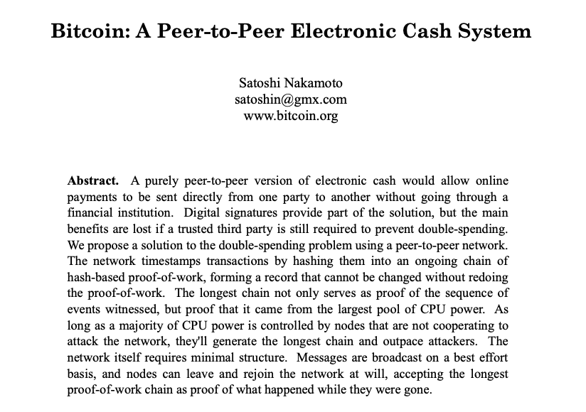 Whitepaper de Bitcoin